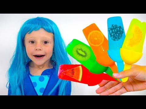 Stacy and kid's fruit song