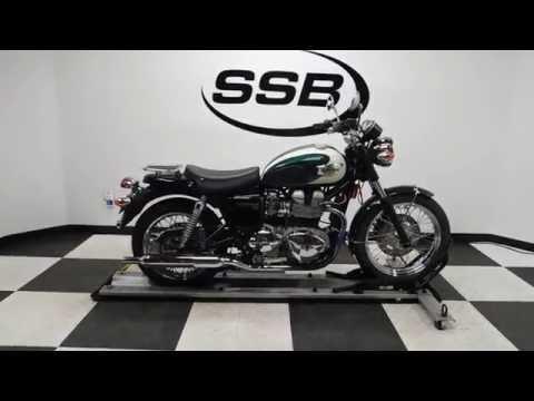 2008 triumph bonneville t100– used motorcycles for sale– eden