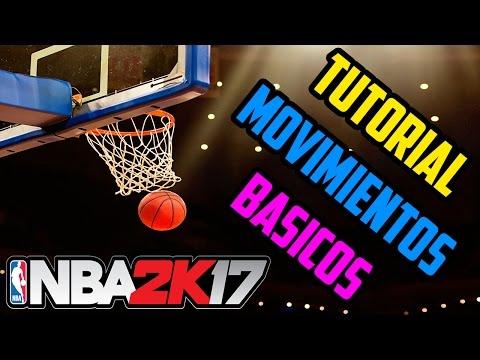 NBA 2K17 | Tutorial Movimientos básicos - Tiro, Euro Step, Movimientos en el poste | Español