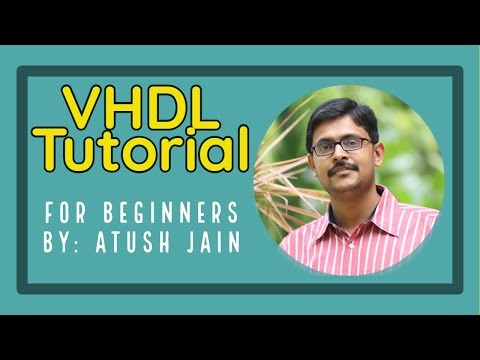 VHDL Tutorial: Half Adder using Behavioral Modeling