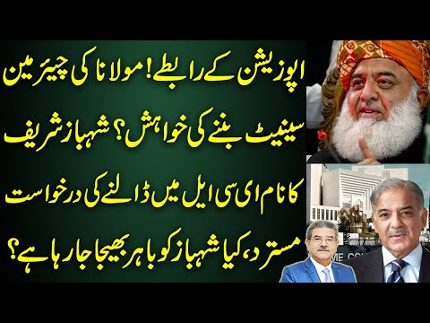 Molana Wants to become Chairman Senate? Shahbaz name on ECL? | Inside from Sami Ibrahim