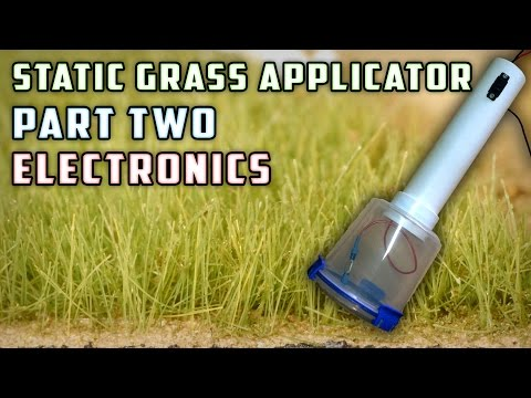 Static Grass Applicator (Electronics) – How To – Model Railroad