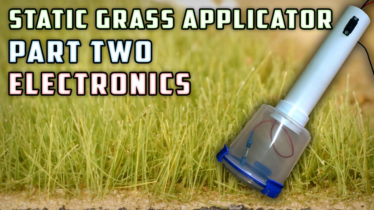 Static Grass Applicator Electronics How To Model Railroad Ho Train Wiring Diagrams On Dc