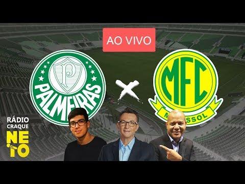Palmeiras x Mirassol | AO VIVO | Rádio Craque Neto - Paulistão 2020