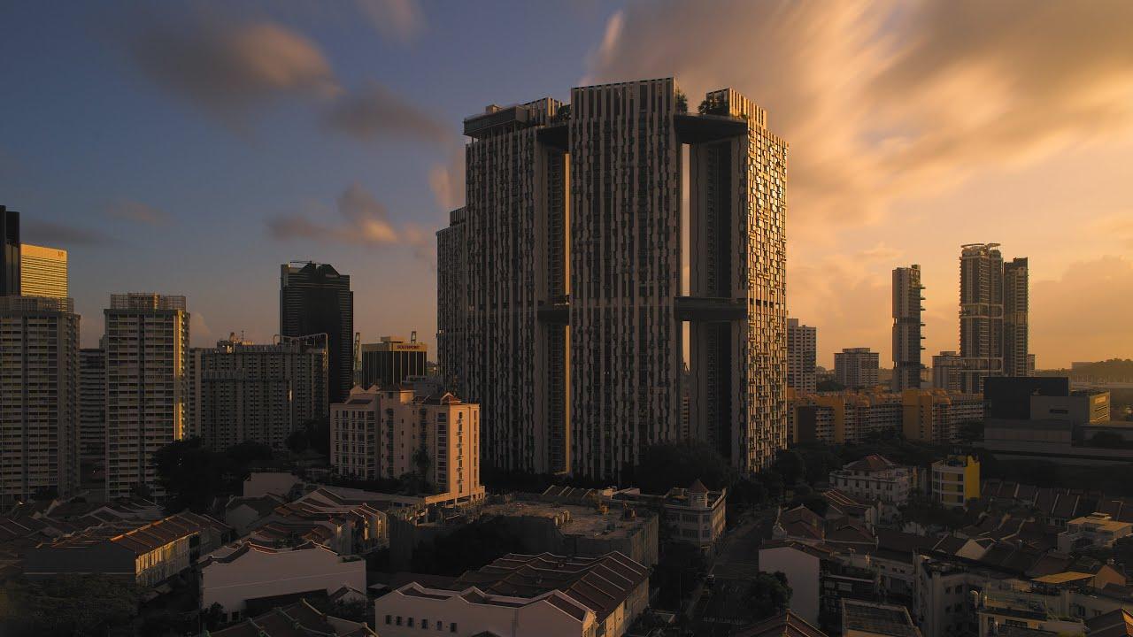 Un timelapse sullo skyline di Singapore lungo 8 anni, in 5 minuti