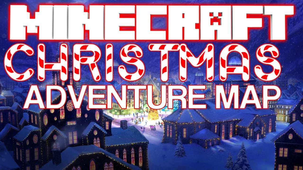 Minecraft Xbox - Christmas Adventure Map - w/ Download - YouTube