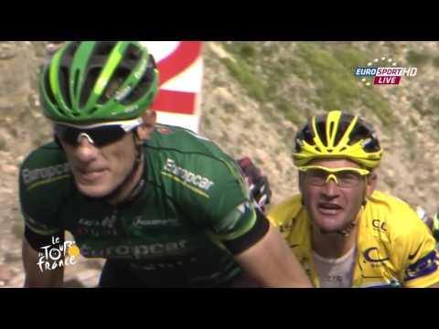 Alberto Contador Cracks Tour de France 2011