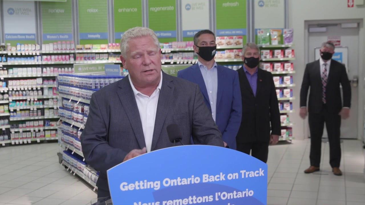 Ontario Premier Doug Ford Provides COVID-19 Update | September 23