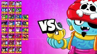 Gene 1v1 vs EVERY Brawler | Spirit Slap is AWESOME
