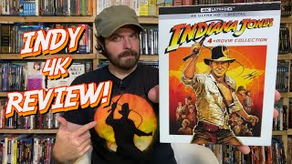 Indiana Jones 4-Movie Collection 4K Review!