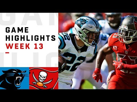 Panthers vs. Buccaneers Week 13 Highlights | NFL 2018