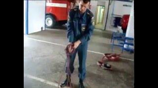 Работа со спасательной верёвкой 4 способа закрепления за конструкцию