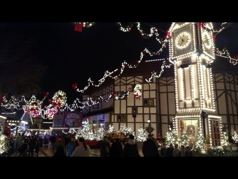 england walk through 2015 christmas town busch gardens williamsburg - Christmas Town Busch Gardens Williamsburg