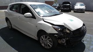 wrecking 2011 mazda 3 automatic fwd 2815b