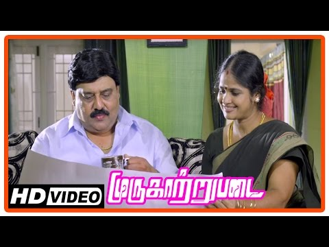 Murugaatrupadai Movie | Scenes | Saravanan's Friend Get Emotional | Goons Threaten Saravanan's Dad