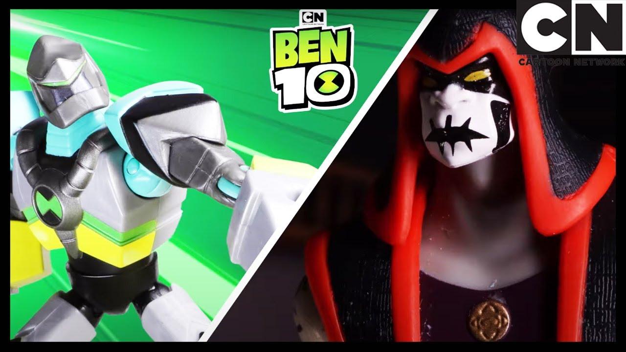 Ben 10 Toy Play | Diamondhead Battle Recreation! | Cartoon Network