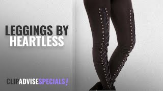 Top 10 Heartless Leggings [2018]: Heartless Arch Leggings Ladies Black New Goth Emo Punk Gothic New