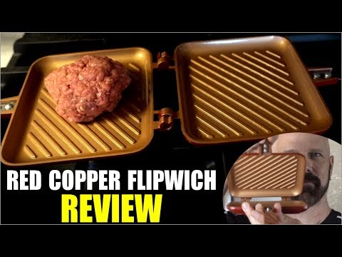 Red Copper Flipwich Review: As Seen on TV Sandwich Maker