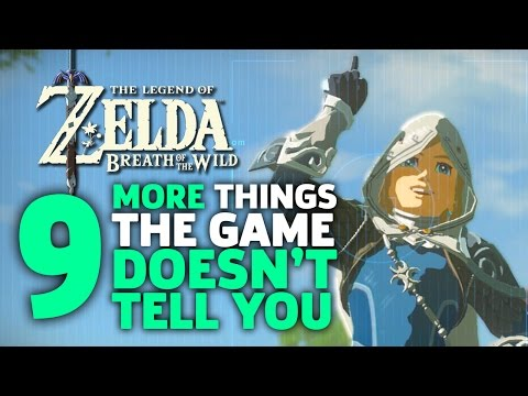Thumbnail: 9 More Things I Wish I Knew Before I Started Zelda: Breath of the Wild