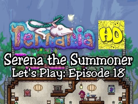 Terraria Summoner Playthrough, Part 18: A Cloud and a Boss! (1.3 prep let's play)