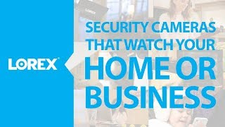 Security cameras that watch over your home or business
