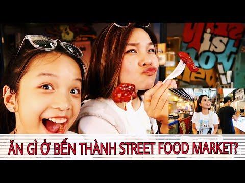 Ẩm Thực Đường Phố: SONG THƯ ĂN GÌ Ở BẾN THÀNH STREET FOOD MARKET?- SONG THƯ CHANNEL