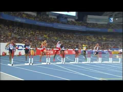 Jason Richardson winner - Dayron Robles disqualified - Finale du 110m haies - 110m Men's Hurdles