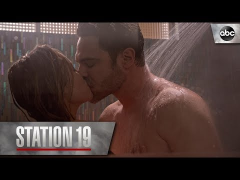 Maya and Jack Get Steamy - Station 19