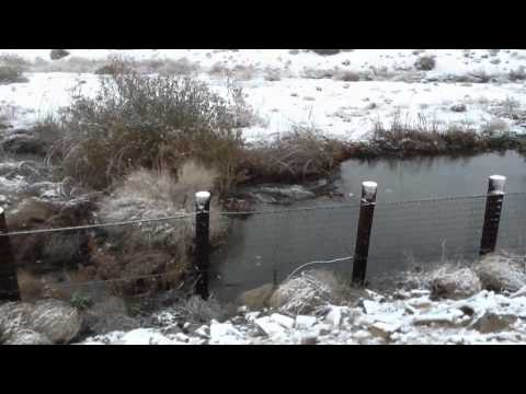 Snow Day In Spring Valley Lake California February 20, 2013