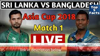 Sri lanka vs Bangladesh 2018 live streaming