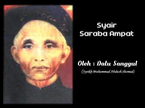 SYAIR  SARABA AMPAT oleh datu sanggul ( Syeikh Muhammad Abdush Shamad ), Tatakan, Rantau, Tapin