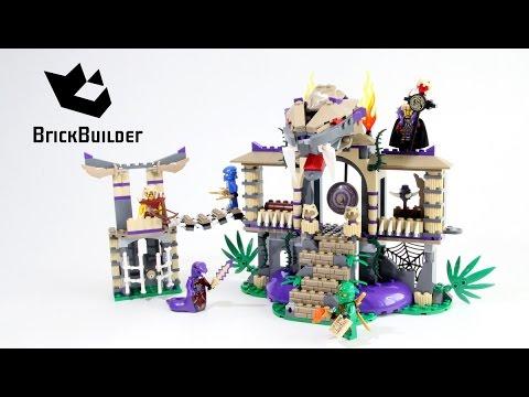 Lego Ninjago 70749 Enter the Serpent - Lego Speed build