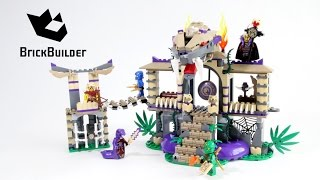 Lego Ninjago 70749 Enter The Serpent - Lego Speed Build