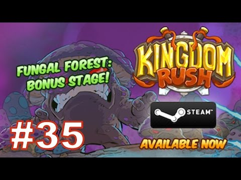 Прохождение КИНГДОМ РАШ (Защита Королевства) - FUNGAL FOREST