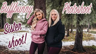 BUFFBUNNY PHOTOSHOOT | SISTER TIME | Violett Vlogs