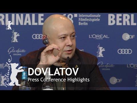 Dovlatov | Press Conference Highlights | Berlinale 2018