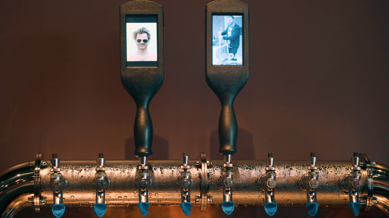 Tv Tap Lcd Beer Tap Handle Youtube