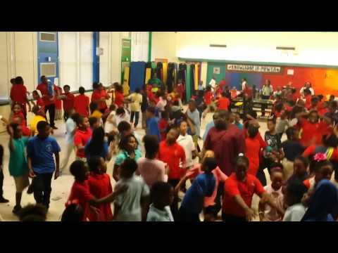 Martin Luther King Jr Elementary School Valentines Dance 2014 with DJ OB1 KANOBE