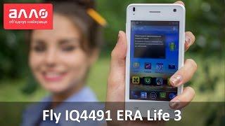 Видео-обзор смартфона Fly IQ4491