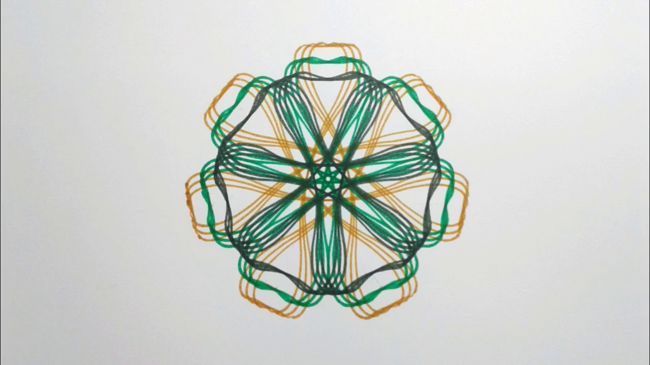 how to make spirograph designs