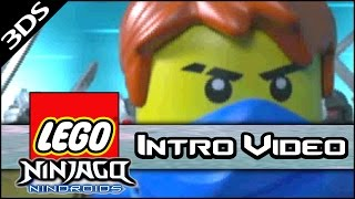 "Lego Ninjago: Nindroids - ""Intro Cutscene Video"" (3DS Gameplay)"