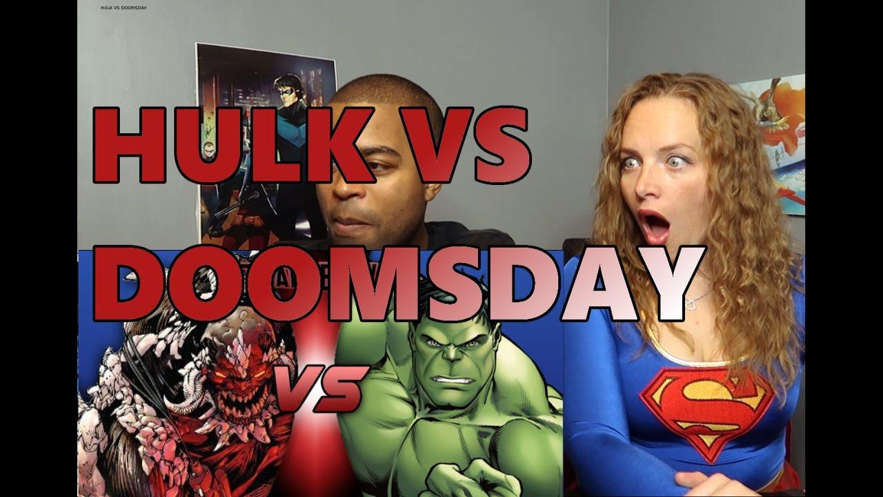 Hulk VS Doomsday DEATH BATTLE! (Reaction 🔥) - YouTube Doomsday Vs Hulk Death Battle Reaction