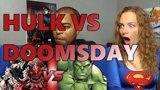 Hulk VS Doomsday DEATH BATTLE! (Reaction 🔥)