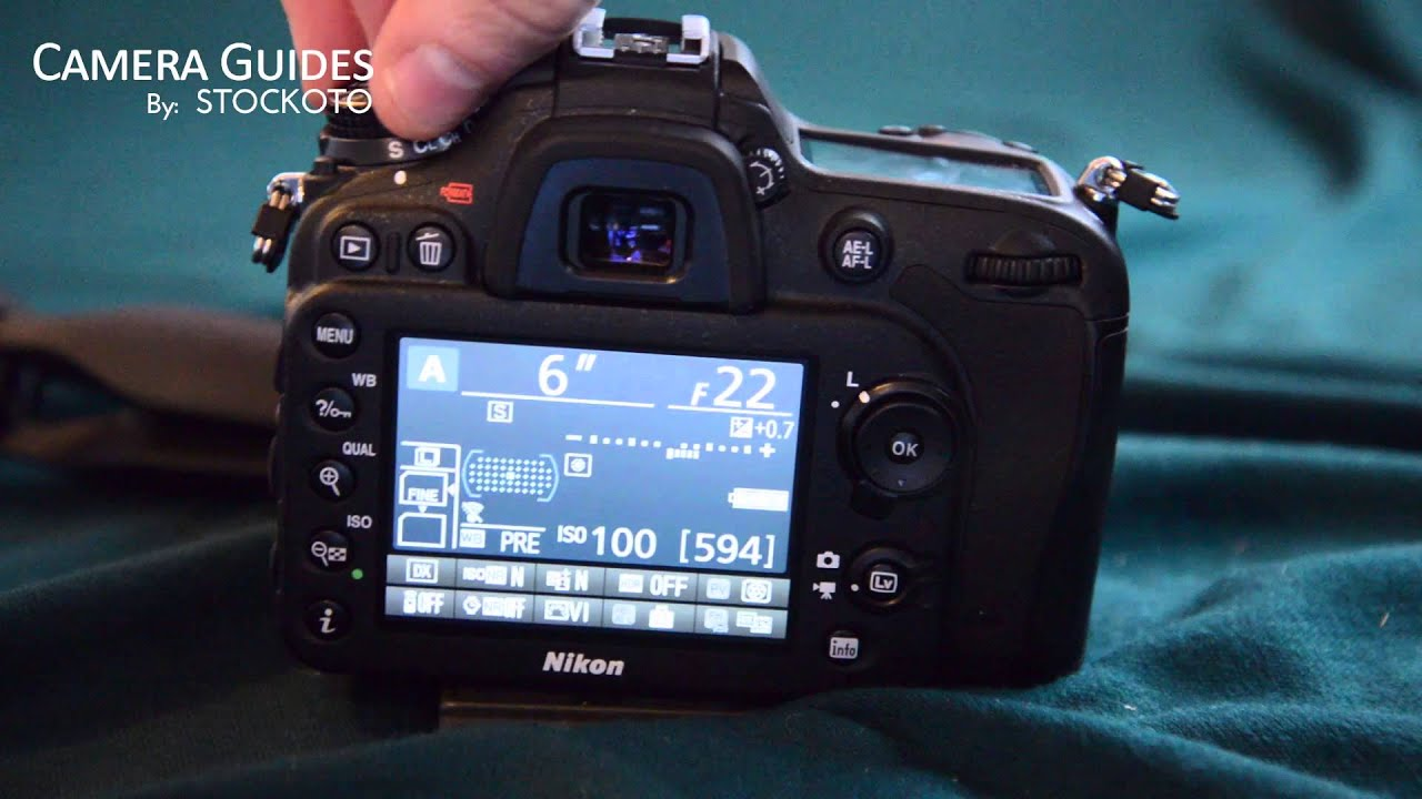 how to change the aperture f stop on the nikon d7100 youtube rh youtube com Nikon D7000 Manual RU Nikon D7000 Manual RU