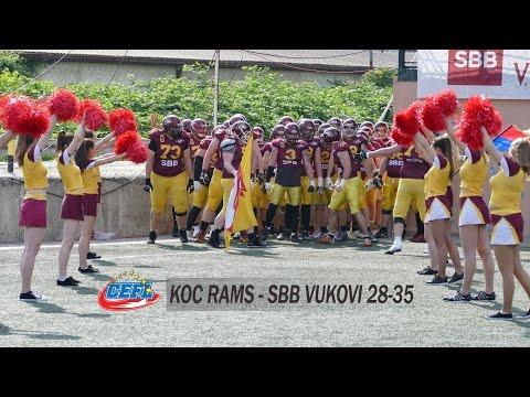 SBB Vukovi-Koc Rams/Istanbul/ 35-28/Cefl 2017