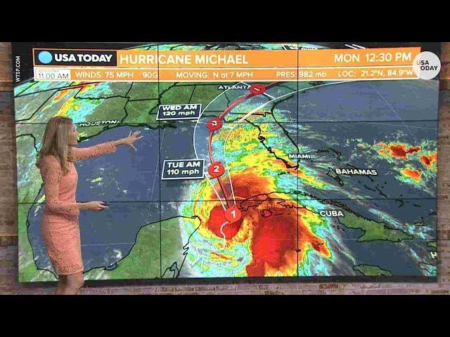 Bão Michael tăng sức mạnh lên gần cấp 5, tàn phá Florida