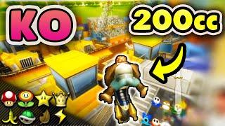 200cc Flame Runner KNOCKOUT Tournament - Mario Kart Wii