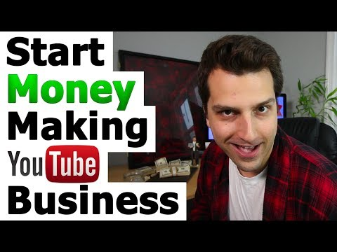 💲How to Start a Money-Making YouTube Business (While Sucking At Everything)💲