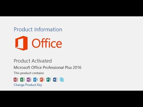 microsoft office professional 2015 product key
