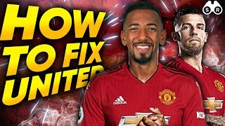 5 Ways You Can Fix Manchester United! | Scout Report